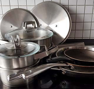 My set of pots and pans
