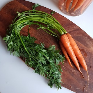 It's all about carrot easter menu